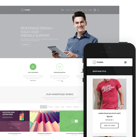 Hookie Wordpress Theme
