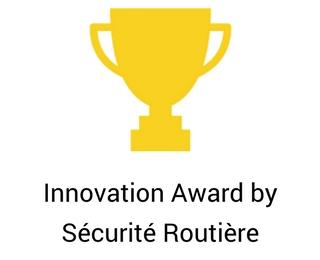 Innovation Award by Sécurité Routière